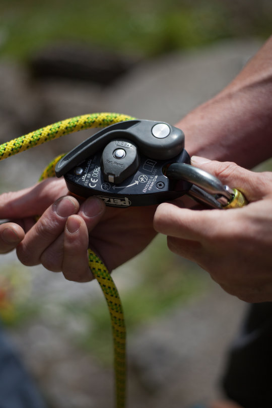 Assisted Breaking Belay Device Review - Petzl GrigriPlus 5, 64 kb