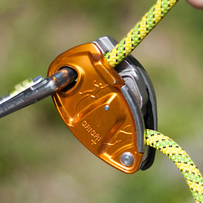 Assisted Breaking Belay Device Review - Petzl GrigriPlus, 46 kb