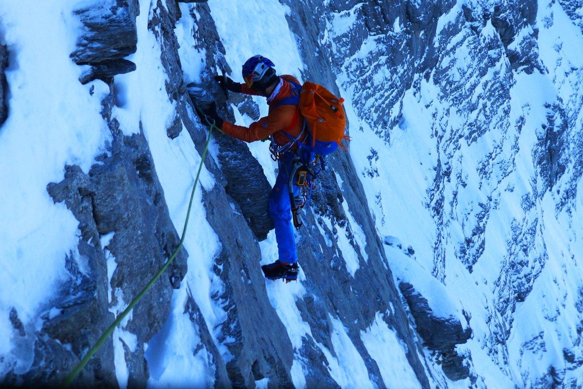 Traverse of the Gods, Heckmair Route, Eiger North face, 225 kb