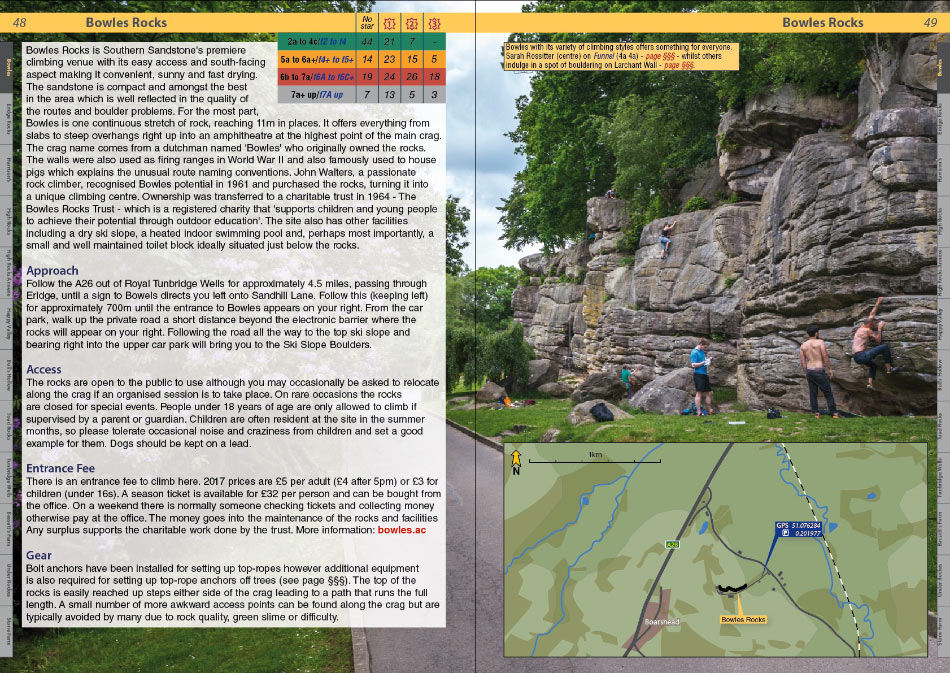 Southern Sandstone Climbs example page 1, 225 kb