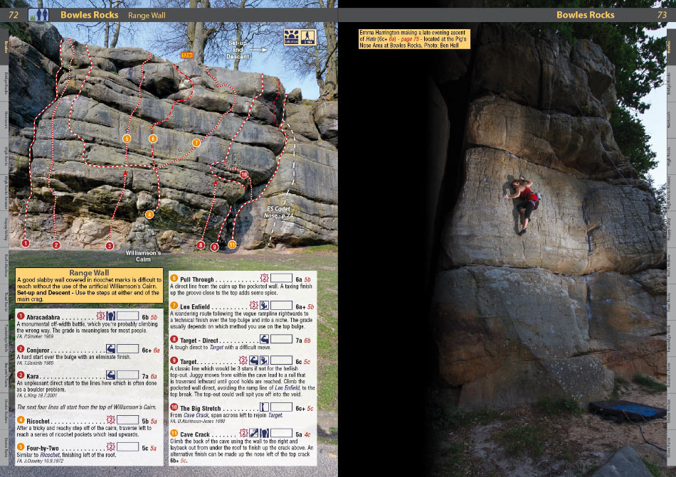 Southern Sandstone Climbs example page 3, 190 kb