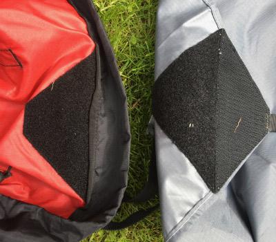 Rope bag review - detachable tarp, 50 kb