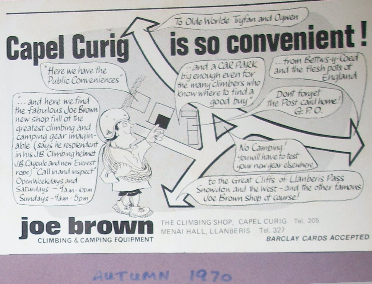 Joe Brown Shops Advert, Autumn 1970, 186 kb