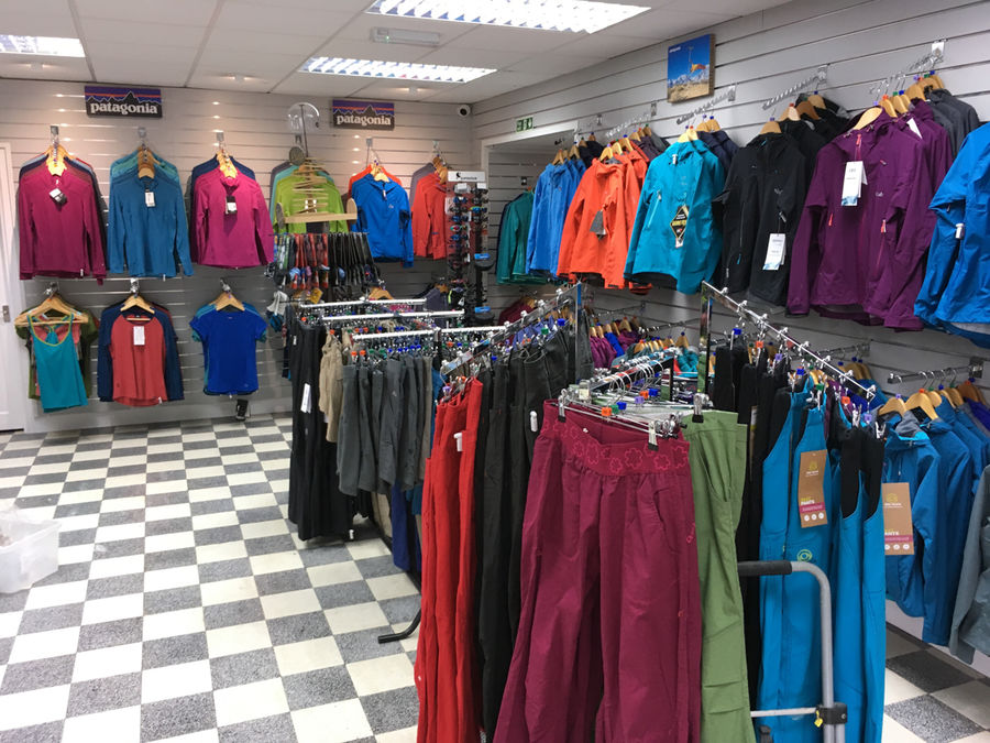 The new and improved Capel Curig shop, 161 kb