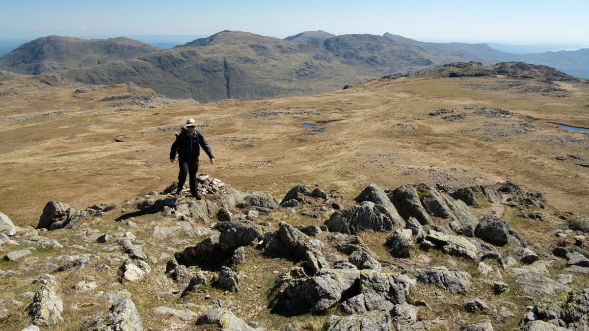 Heading for Crinkle crags, 217 kb