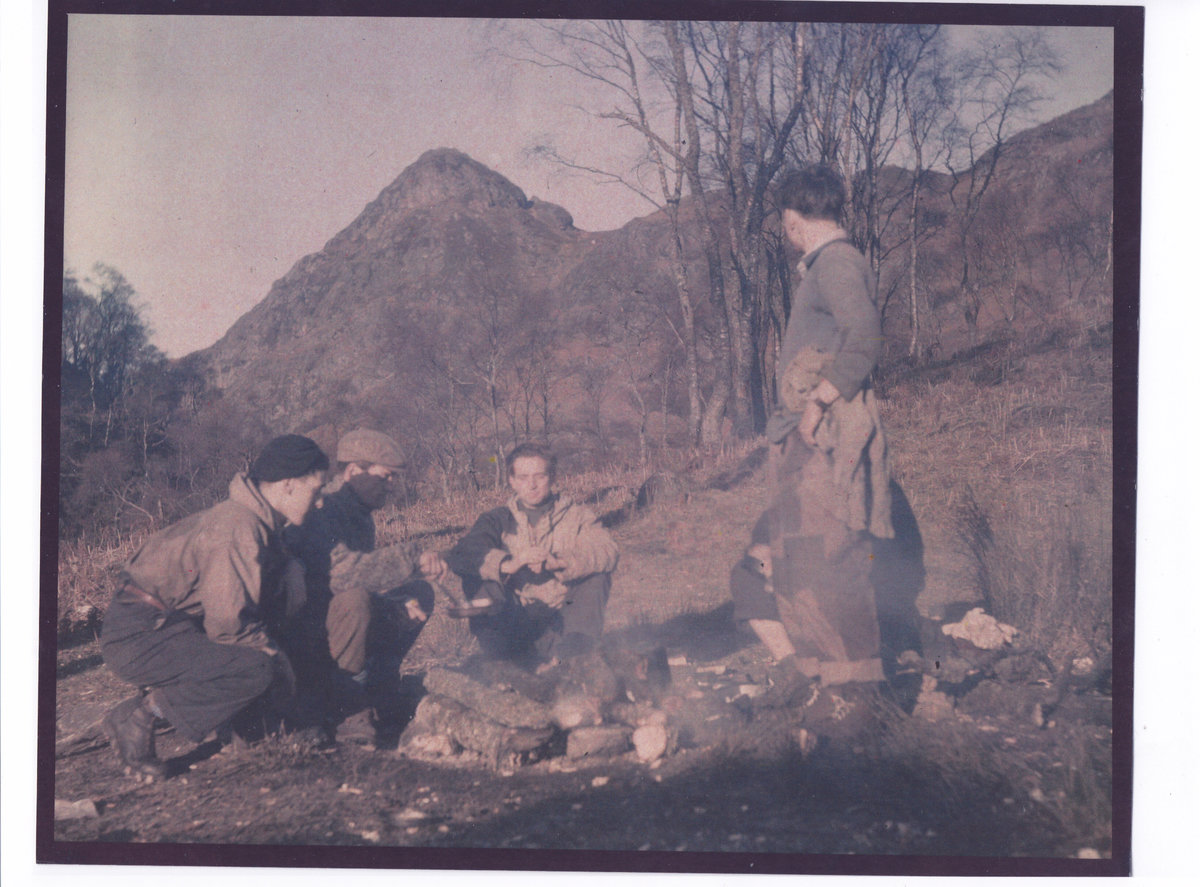 Camping at Ben A'an, 212 kb