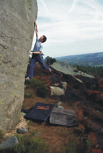 Ben Moon on another hard Yorkshire Classic - Cypher at Slipstones., 54 kb