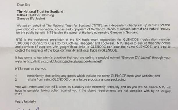 NTS letter, 110 kb