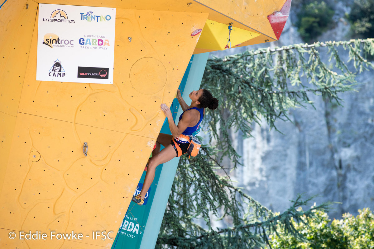Molly Thompson-Smith (GBR) finished 8th in Arco, 221 kb