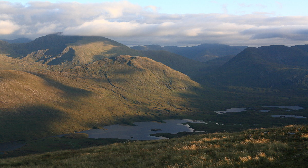 An Socach, one of the least accessible Munros on the round, 139 kb