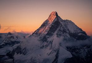 [Matterhorn North Face 5th September 2017 (from the Dent Blanche) © Ben Tibbetts]