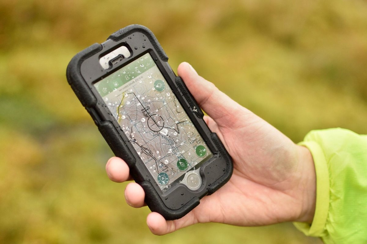 Using a smartphone in a water-resistant case, 109 kb