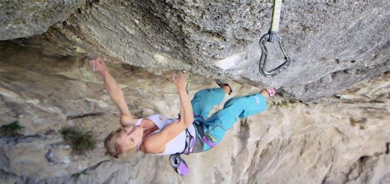 ukclimbing.com - NEWSFLASH: First Female 9b by Angy Eiter
