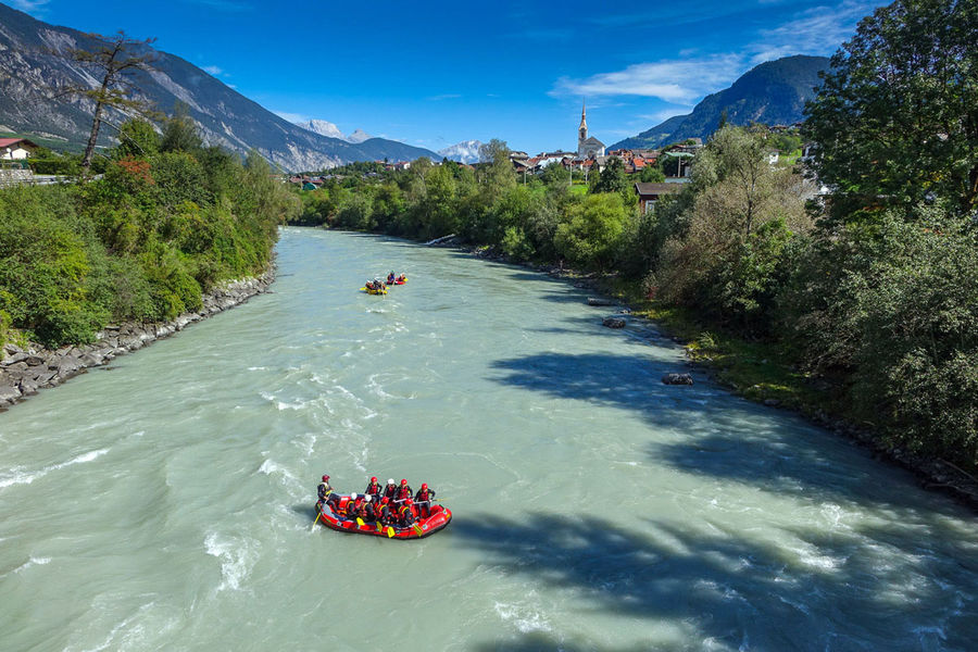 Rafting is another popular activity in the valley., 154 kb