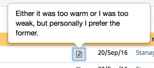 Warm weak, 76 kb
