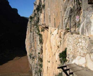 The Walkway at El Chorro, 25 kb