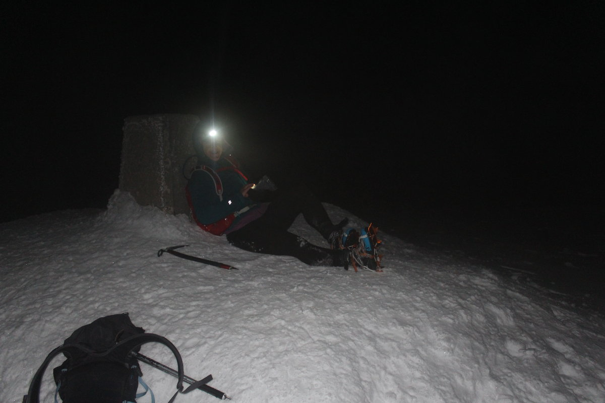 Helen in the Grey Corries © UKC News
