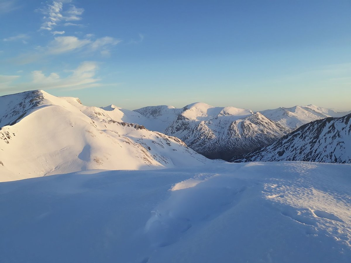 The Ben, Aonachs and Grey Corries form the Mamores © UKC News