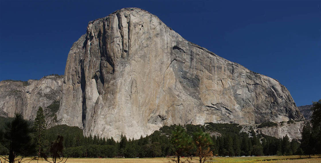 El Cap from the meadows