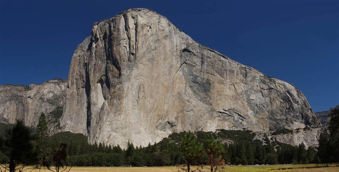 El Cap from the meadows , 99 kb