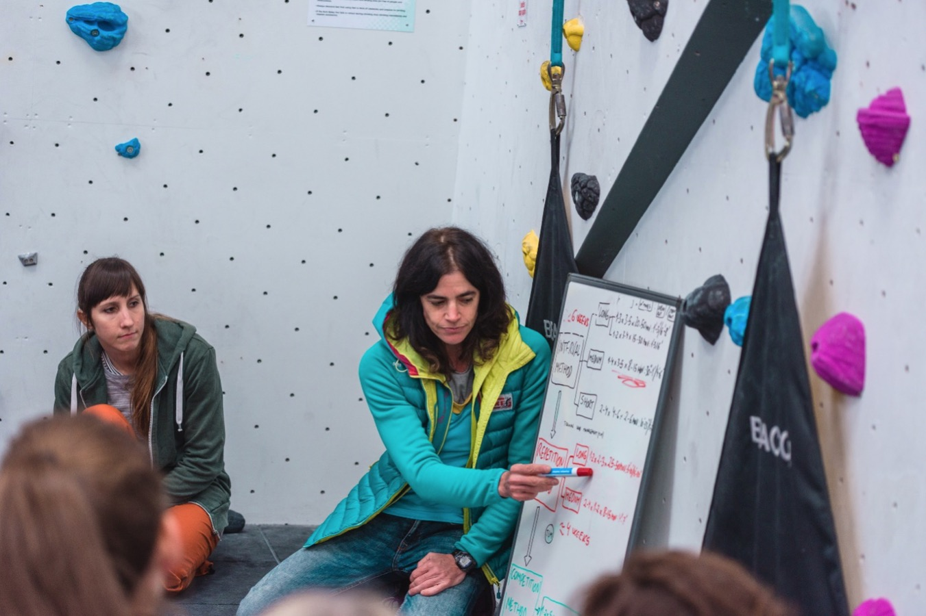 Workshops at the 2017 Women\'s Climbing Symposium © UKC Gear