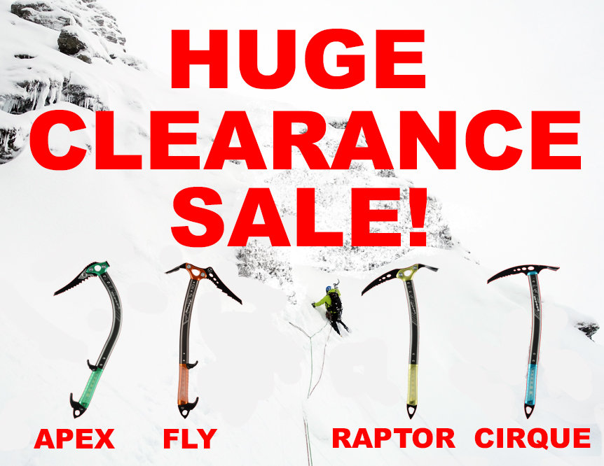 Mega DMM Ice Axe     - UKC Gear - DEAL OF THE MONTH