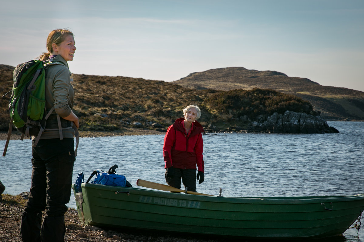How are older women in the outdoors perceived - especially when they are alone? © UKC Articles