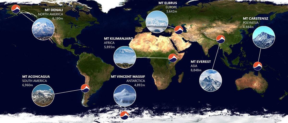 The Seven Summits © UKC News