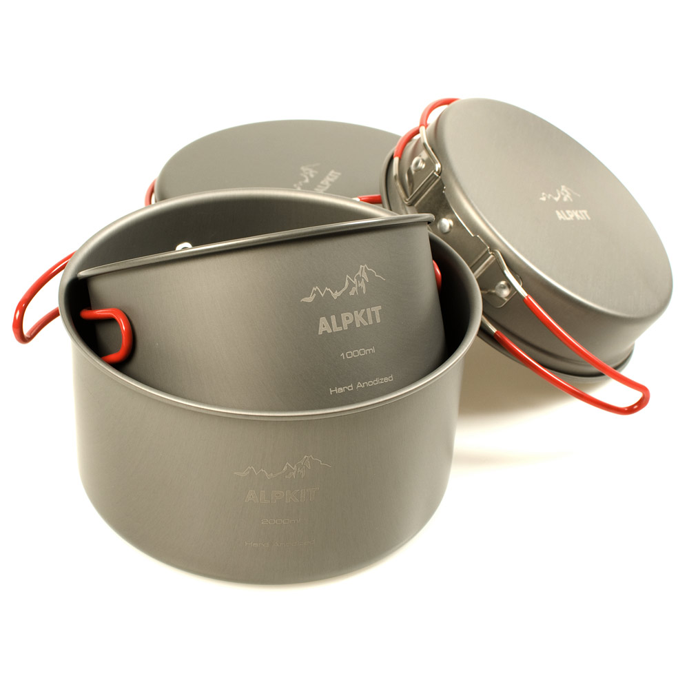 Alipots 4-piece pan set © UKC Articles