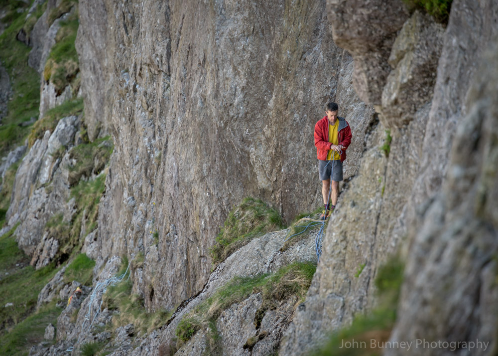 Caff contemplating before setting off. © UKC News
