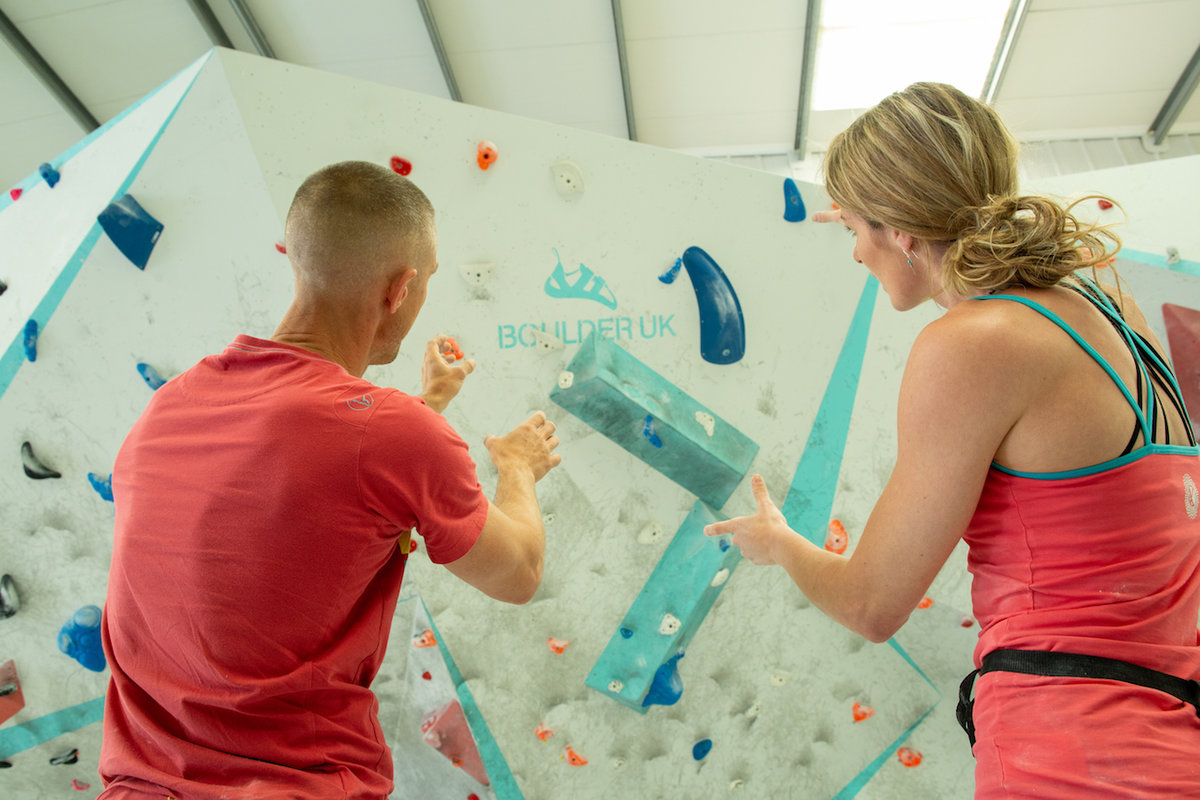 Bouldering is a social activity which encourages interaction. © UKC Articles