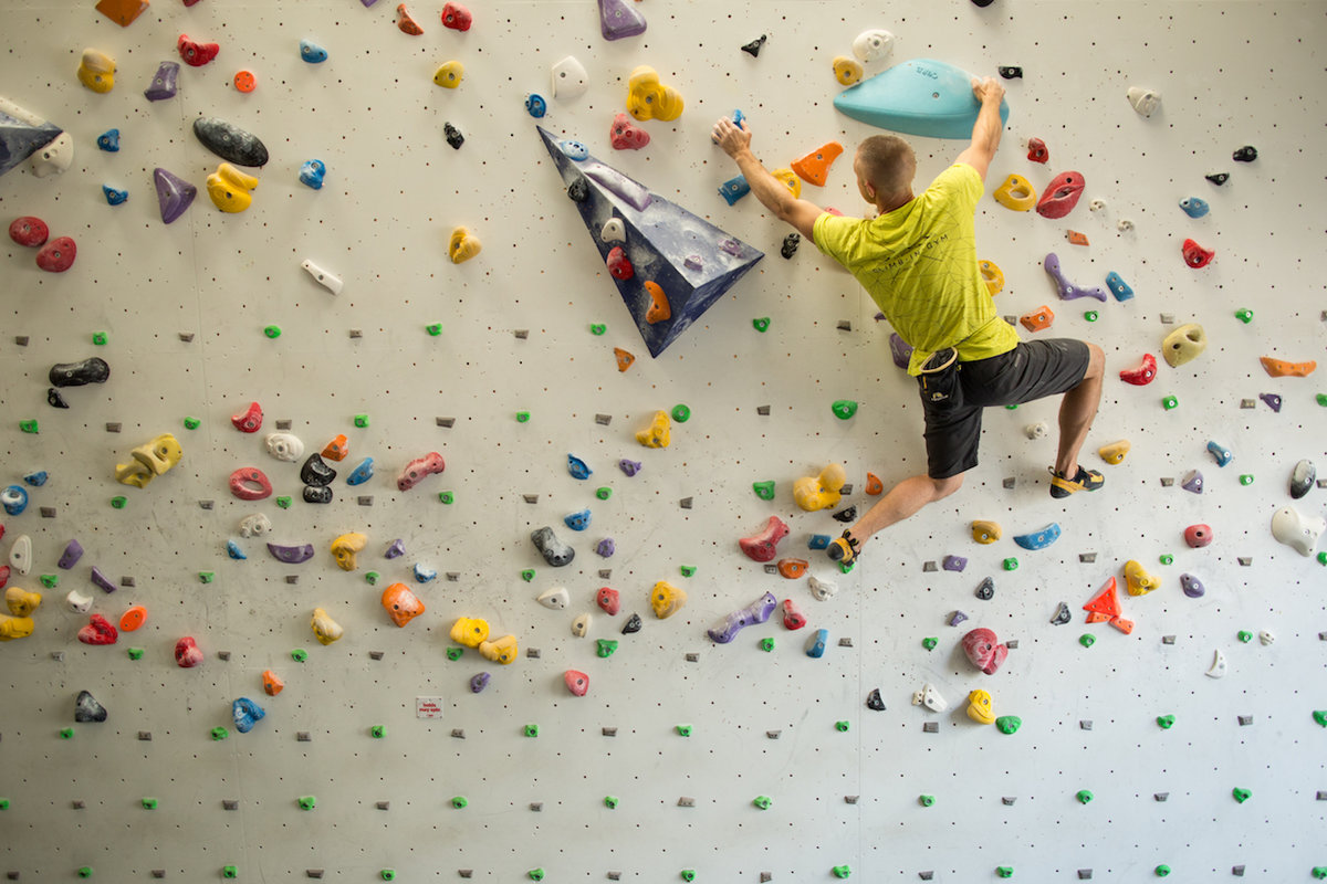 Indoor climbing has become a sport in its own right. © UKC Articles