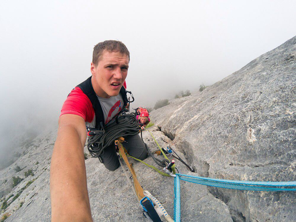 Sergey Glazunov, 26, fell to his death while abseiling. © UKC News