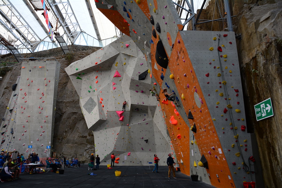 The British Lead and Speed Climbing Championships 2018. © UKC News