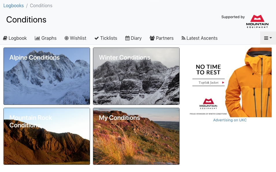 Conditions Homepage © UKC News