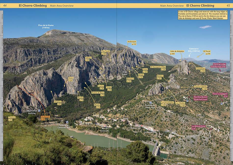 Spain : El Chorro Rockfax example page 1 © Rockfax