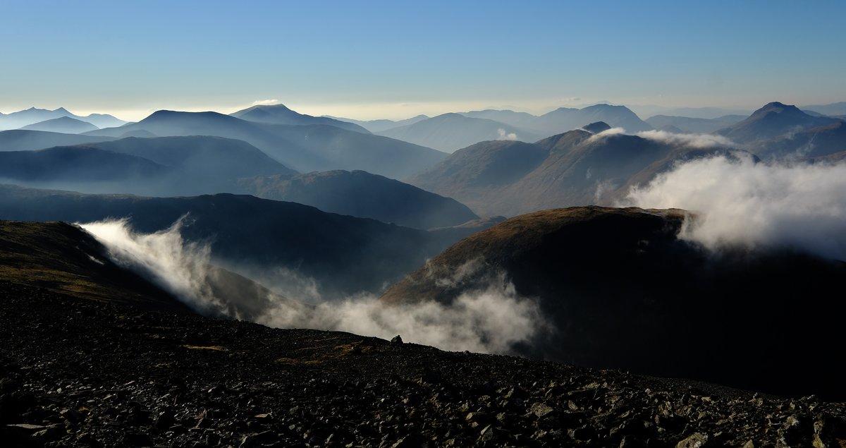 Glen Etive from Creise © Mac fae Stirling