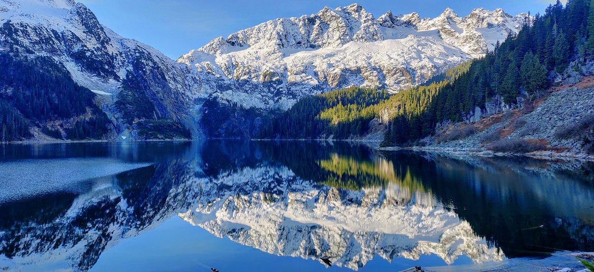 Lake Lovelywater, Tantalus Range, BC Canada © superturbo