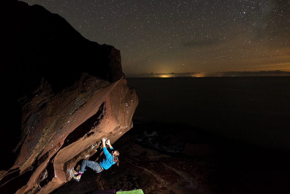 Midnight sessions at St Bees © Marc Langley