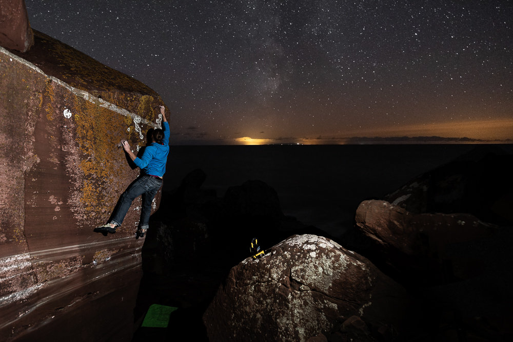 St Bees Milky Way  © Marc Langley
