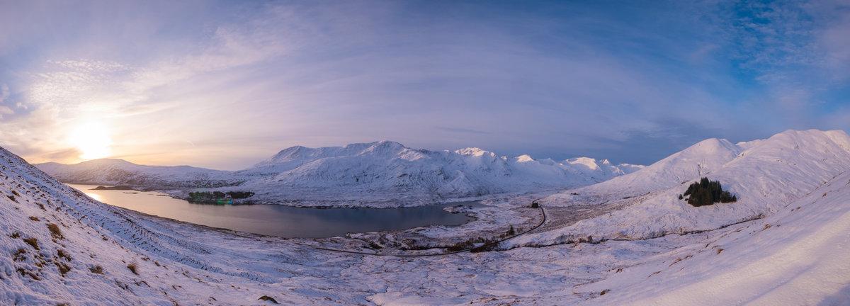 Sunrise at Glen Shiel © PPP