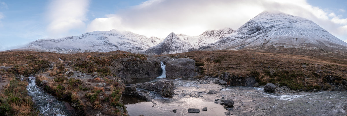 Fairy Pools panorama © PPP