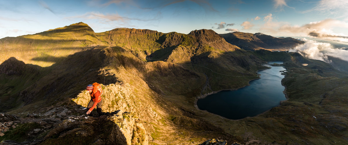 What Five o clock starts are all about, having the mountains to yourselves on autumn days © jethro kiernan