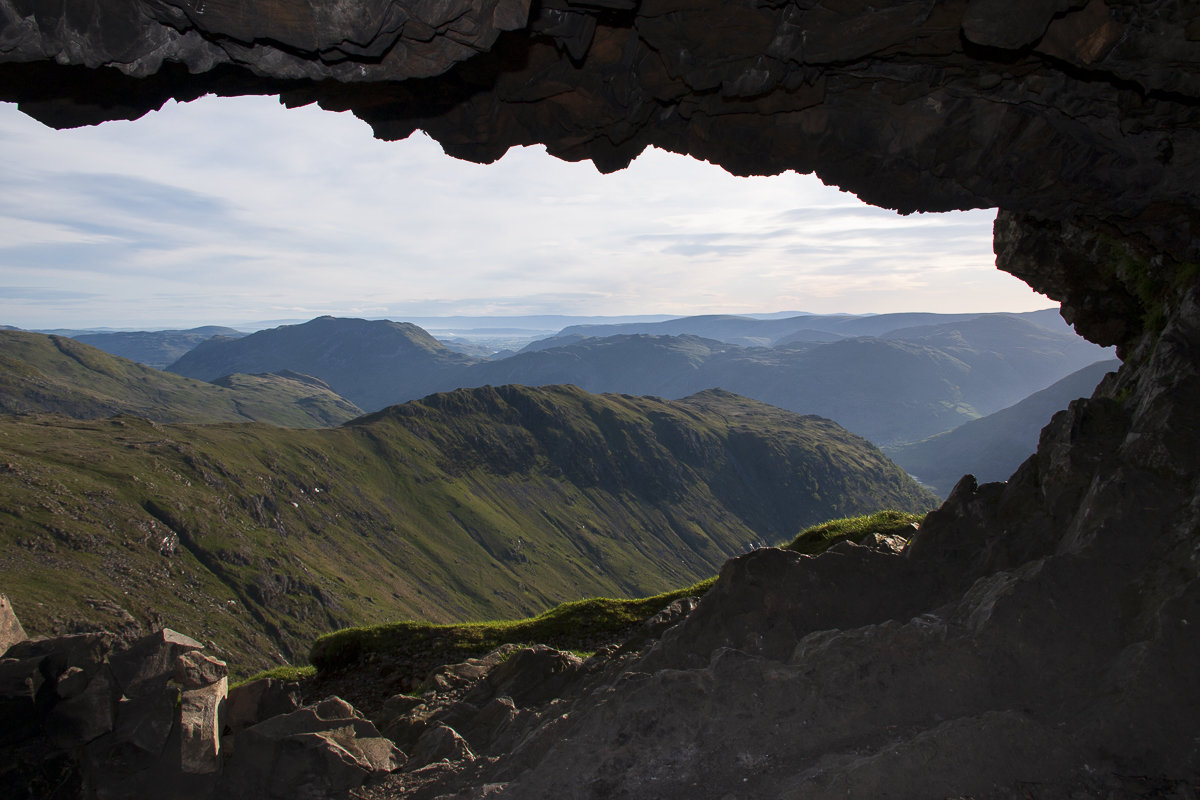 Waking up in the Priests Hole - not a line I've often used  © Dan Bailey - UKHillwalking.com