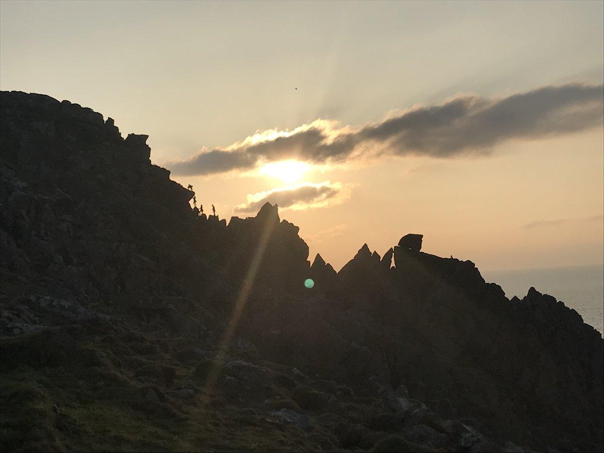 Commando Ridge at sunset © CJoyce