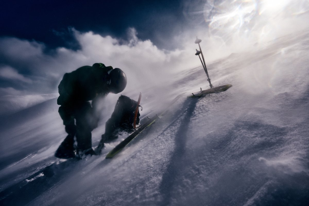 A wild day ski touring in the Cairngorms © Hamish Frost