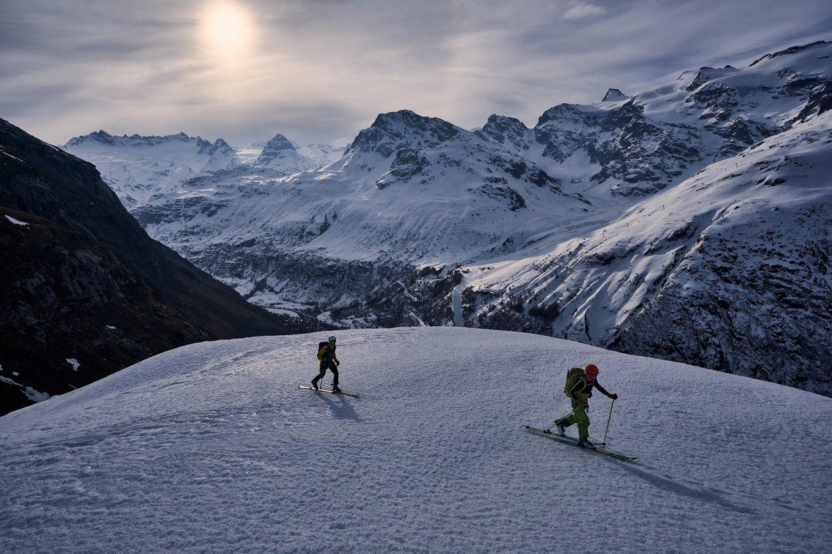 Touring above Bonneval en route back to Val d'Isère © Hamish Frost