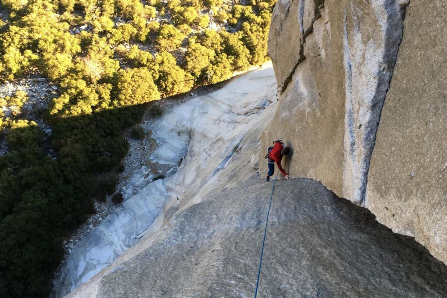 NEWS: New free line on El Capitan for Caldwell and Honnold