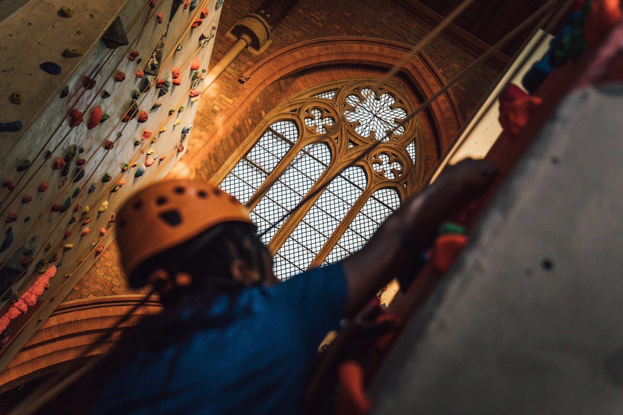 Manchester Climbing Centre © adidas Outdoor