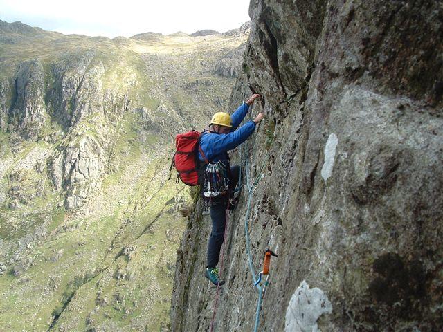 Corvus classic traverse Raven Crag Borrowdale, 85 kb